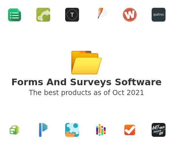 Forms And Surveys Software