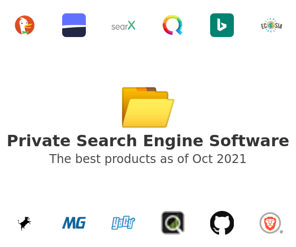 Private Search Engine Software