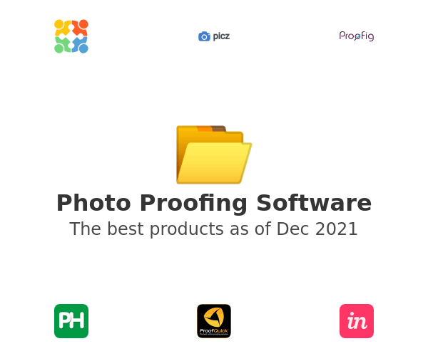 Photo Proofing Software