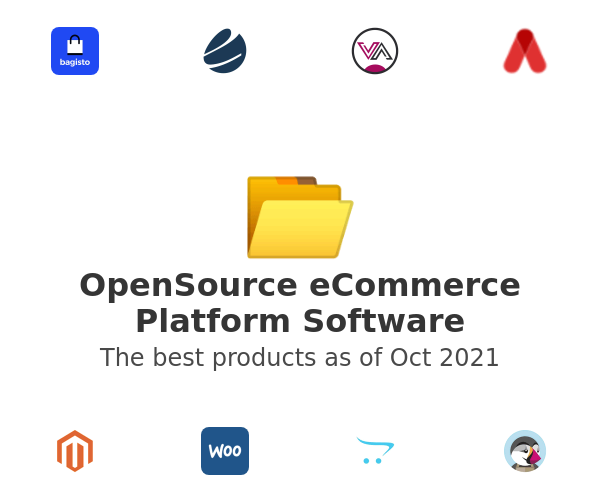 OpenSource eCommerce Platform Software