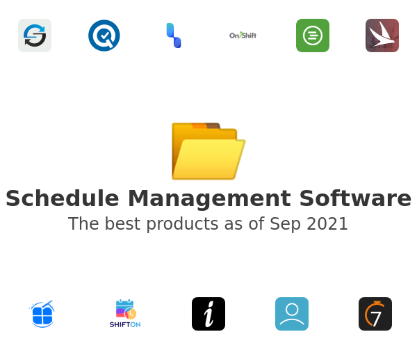 Schedule Management Software