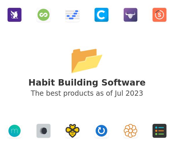 Habit Building Software