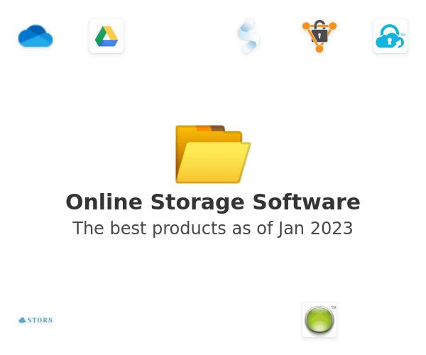 Online Storage Software