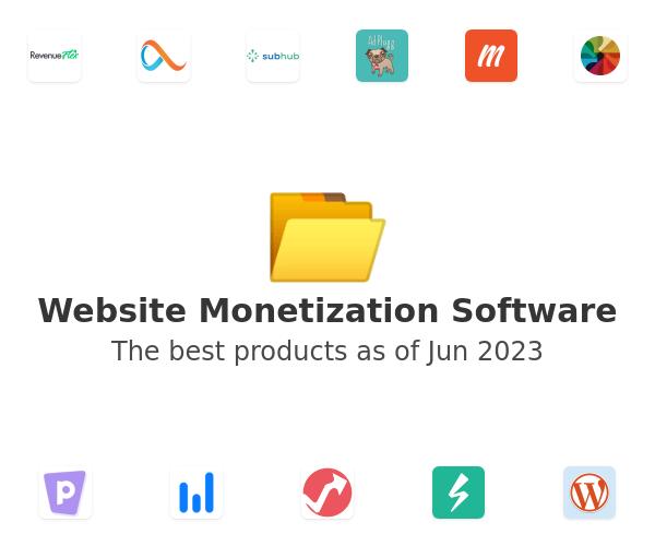 Website Monetization Software
