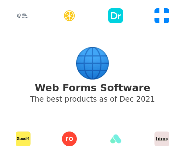 Web Forms Software