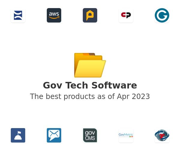 Gov Tech Software