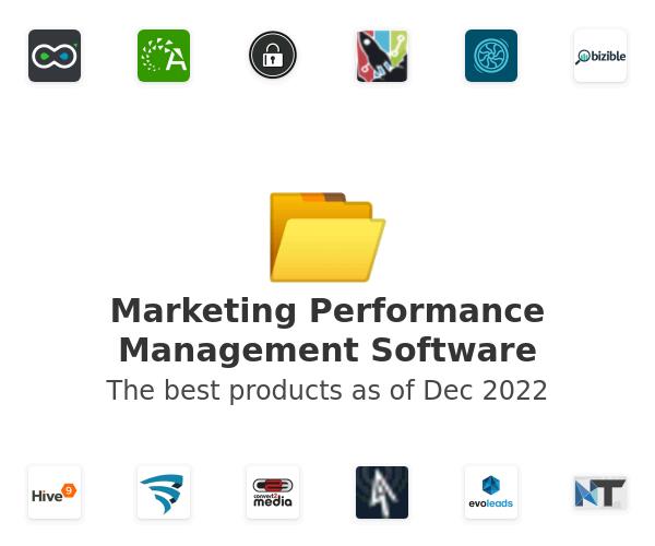 Marketing Performance Management Software