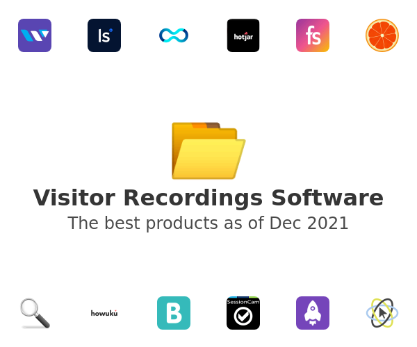 Visitor Recordings Software