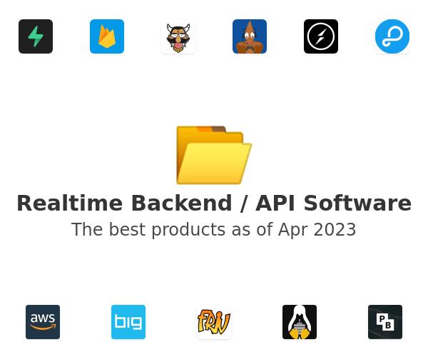 Realtime Backend / API Software