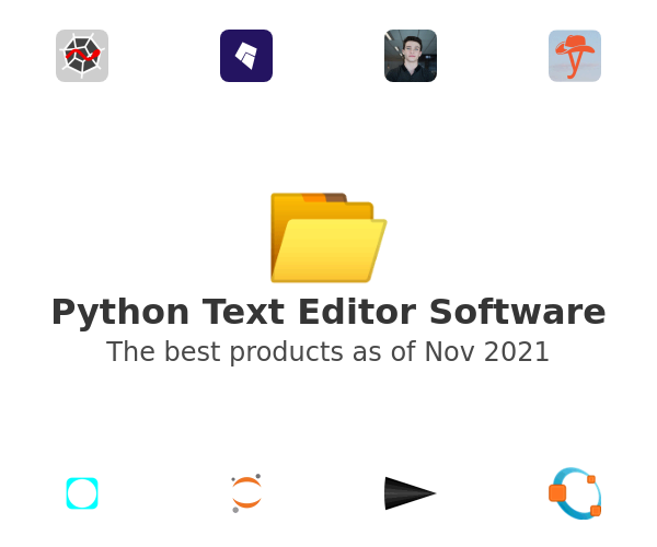 Python Text Editor Software