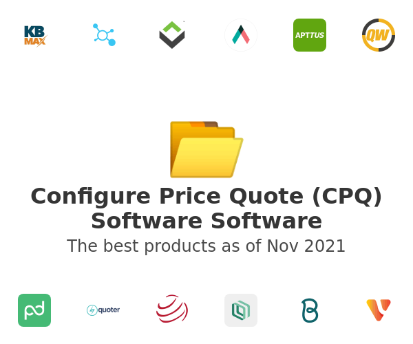 Configure Price Quote (CPQ) Software Software