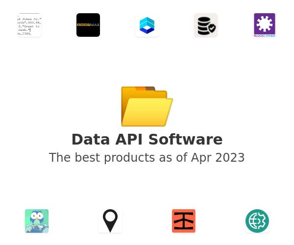 Data API Software