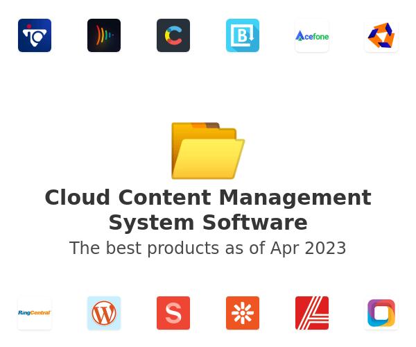 Cloud Content Management System Software