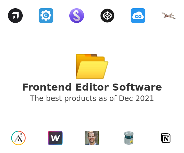 Frontend Editor Software