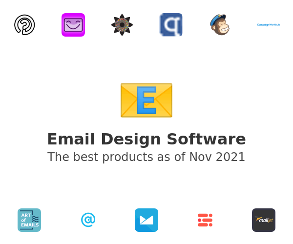 Email Design Software