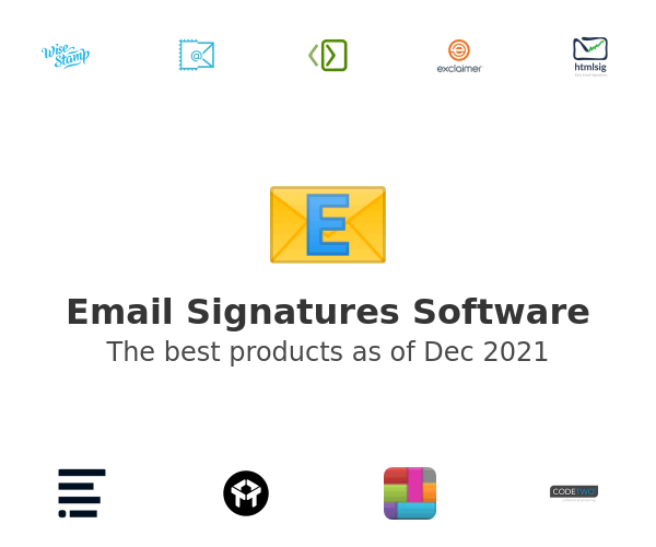 Email Signatures Software