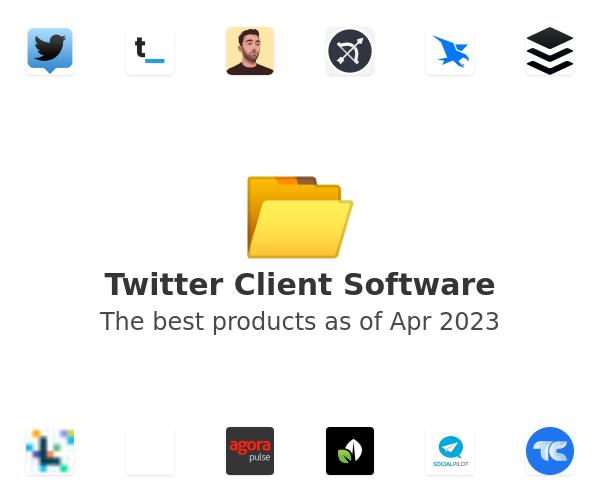 Twitter Client Software