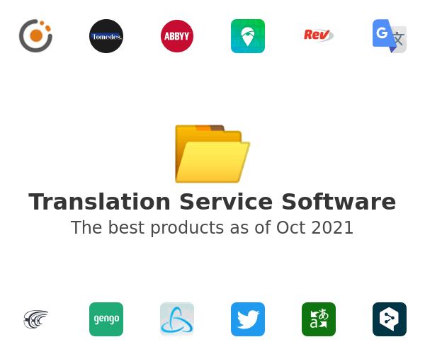 Translation Service Software