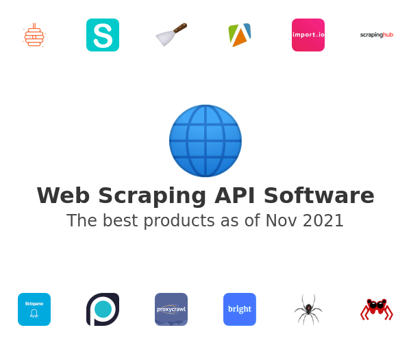 Web Scraping API Software