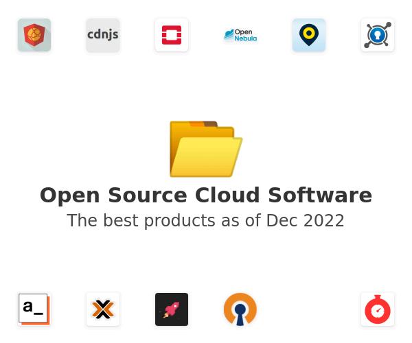 Open Source Cloud Software