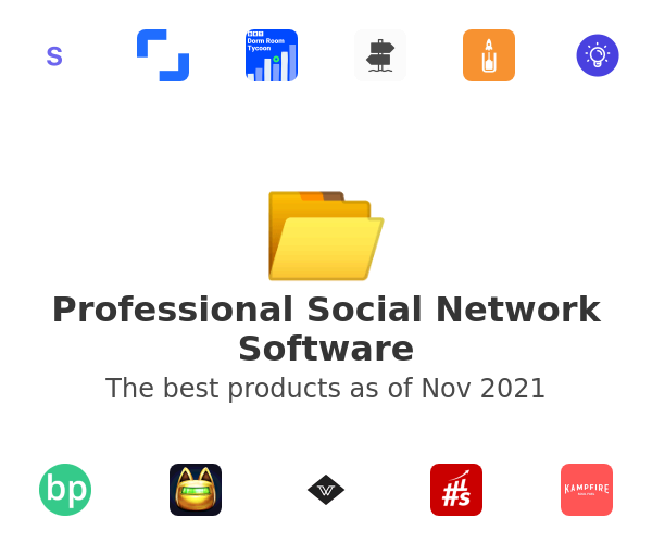 Professional Social Network Software