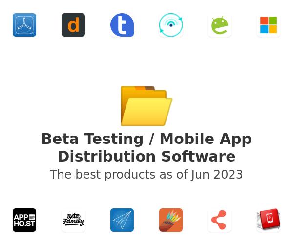 Beta Testing / Mobile App Distribution Software