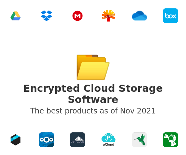 Encrypted Cloud Storage Software