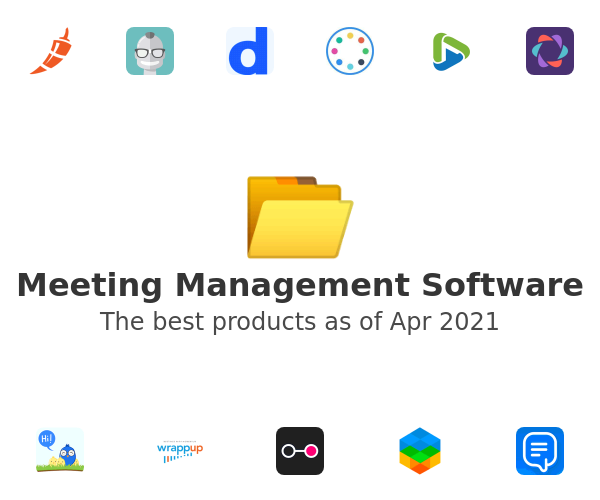 Meeting Management Software