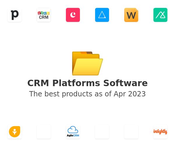 CRM Platforms Software