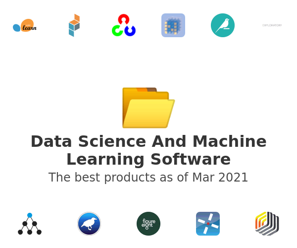 Data Science And Machine Learning Software