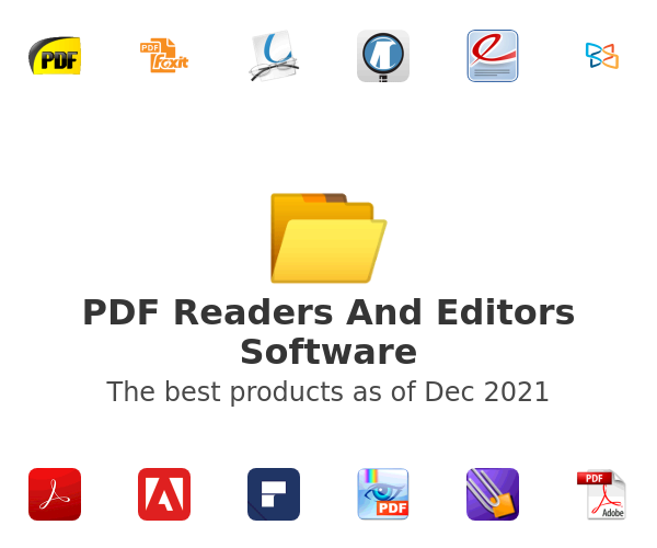 PDF Readers And Editors Software