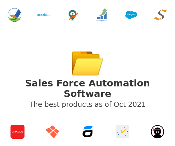 Sales Force Automation Software