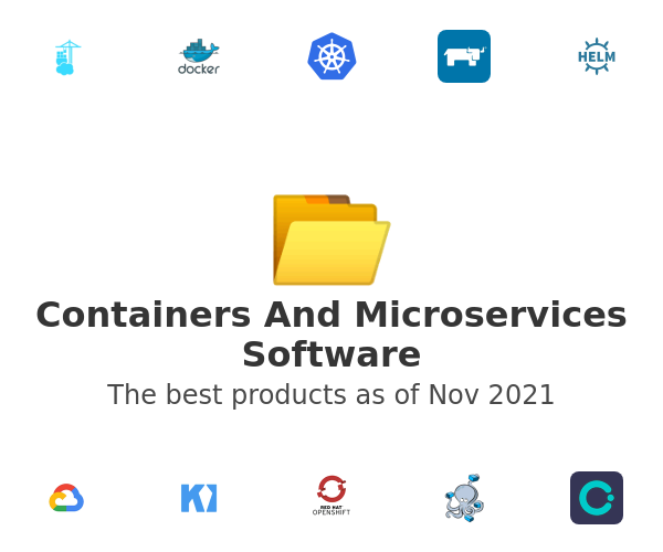 Containers And Microservices Software