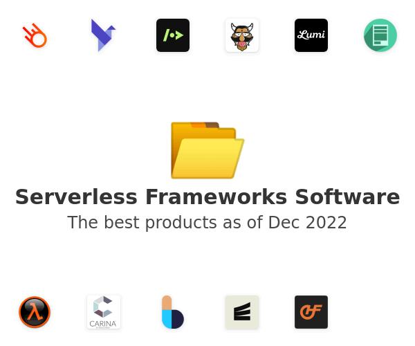 Serverless Frameworks Software