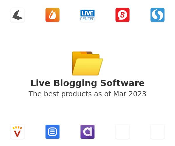 Live Blogging Software