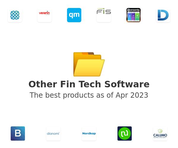 Other Fin Tech Software