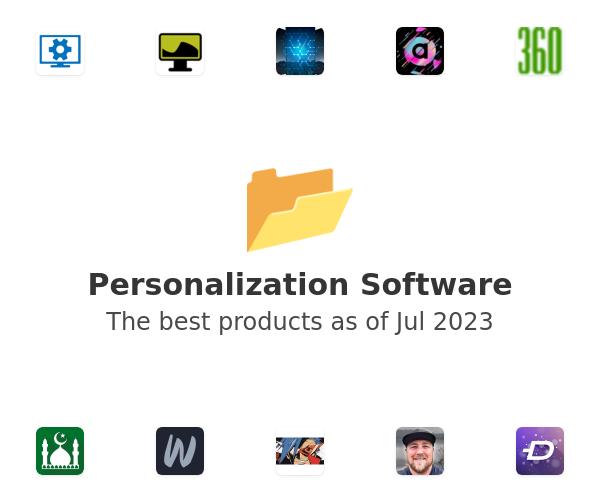 Personalization Software
