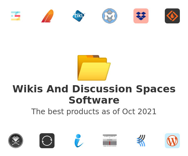 Wikis And Discussion Spaces Software