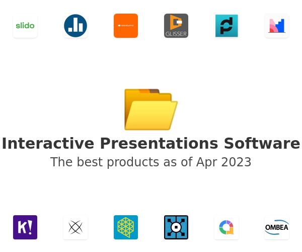 Interactive Presentations Software