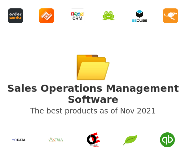 Sales Operations Management Software