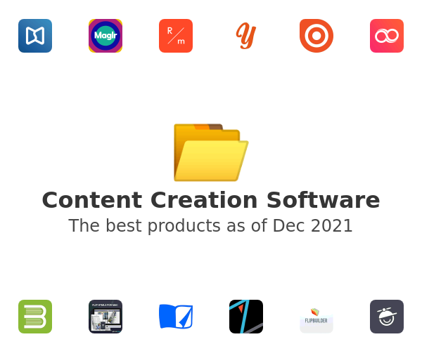 Content Creation Software