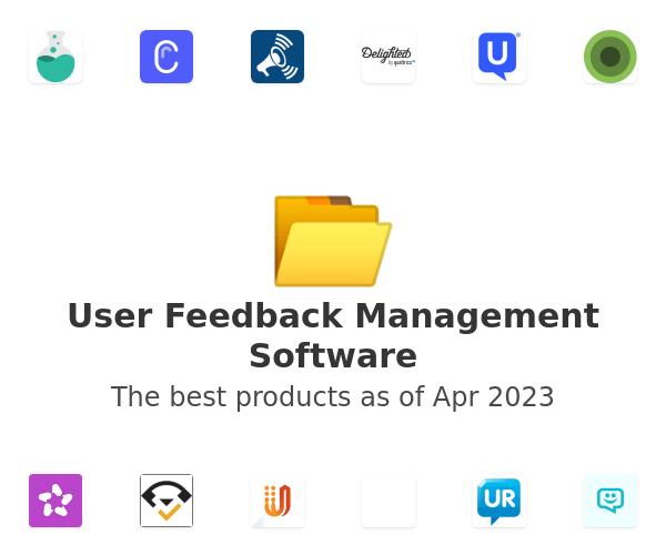 User Feedback Management Software