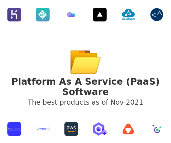 Platform As A Service (PaaS) Software