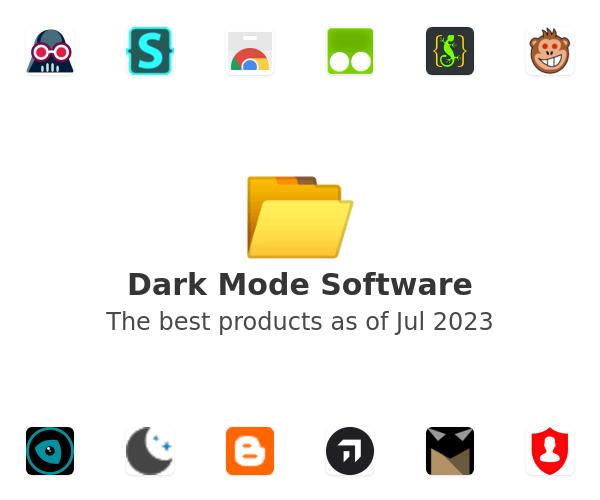 Dark Mode Software