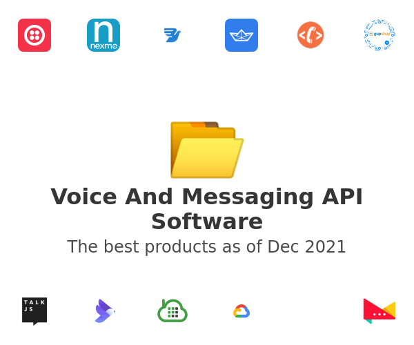 Voice And Messaging API Software