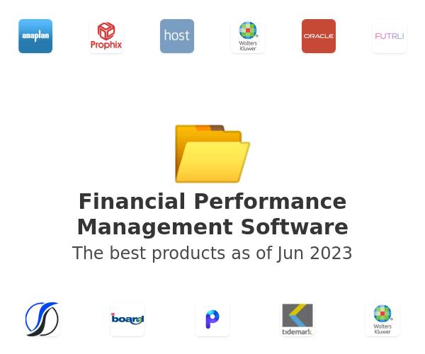 Financial Performance Management Software