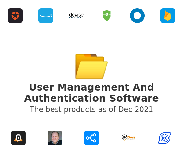User Management And Authentication Software