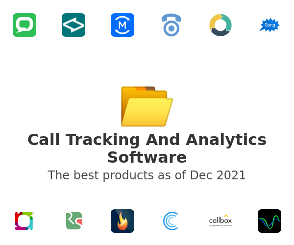 Call Tracking And Analytics Software