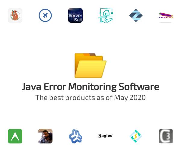 Java Error Monitoring Software