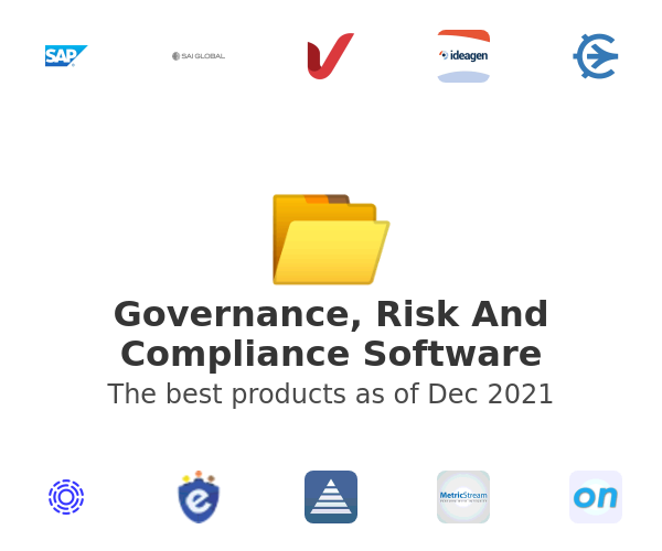 Governance, Risk And Compliance Software